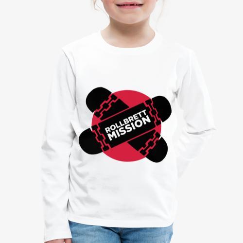 Mission Nippon - Kinder Premium Langarmshirt