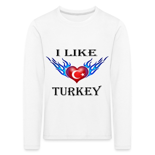 I Like Turkey - Kinder Premium Langarmshirt