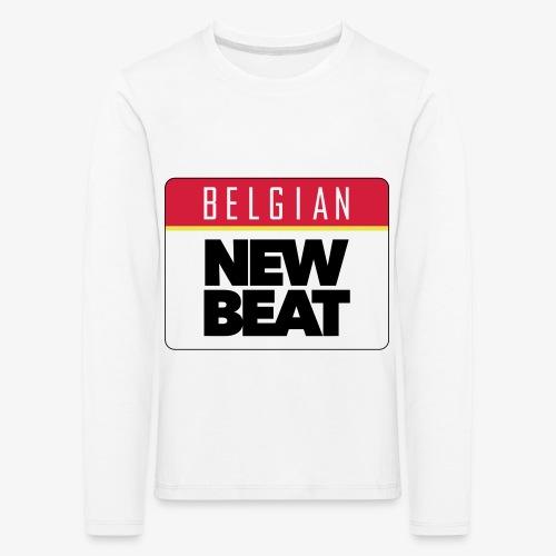 BNB LOGO - Kinderen Premium shirt met lange mouwen
