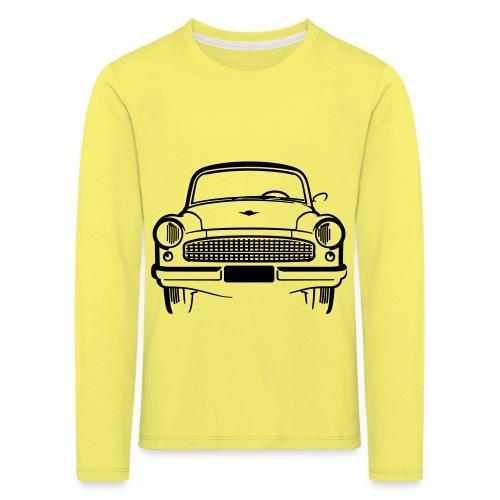 Wartburg 311 front - Kids' Premium Longsleeve Shirt