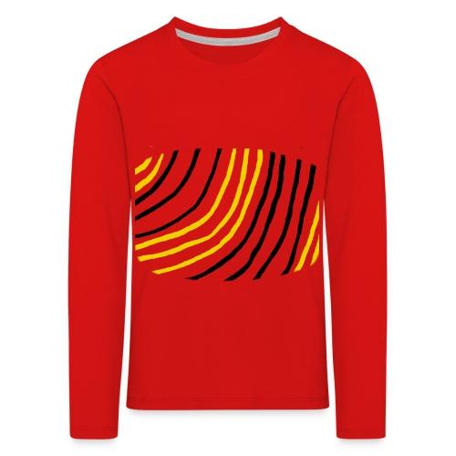 Raidat - Lasten premium pitkähihainen t-paita
