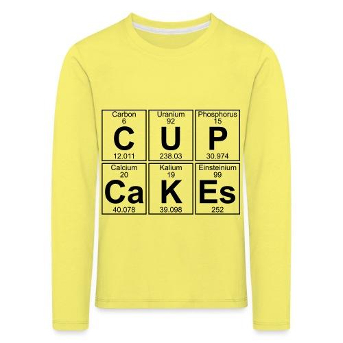 C-U-P-Ca-K-Es (cupcakes) - Full - Kids' Premium Longsleeve Shirt