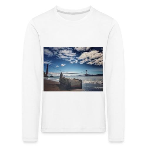 poncio - Camiseta de manga larga premium niño