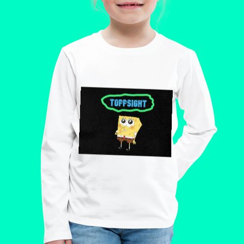 Topsight - Långärmad premium-T-shirt barn