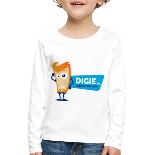 Digie.be - Kinderen Premium shirt met lange mouwen
