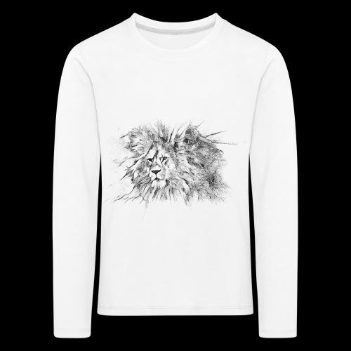 Le roi le seigneur des animaux sauvages - T-shirt manches longues Premium Enfant