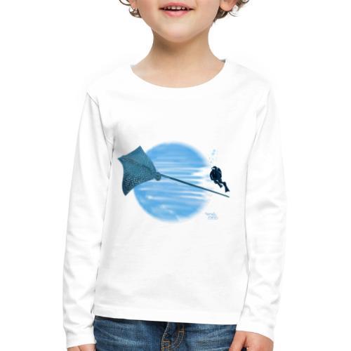 Pijlstaart rog - T-shirt manches longues Premium Enfant