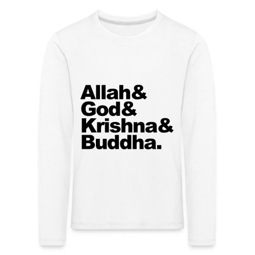 godsdiensten - Kinderen Premium shirt met lange mouwen