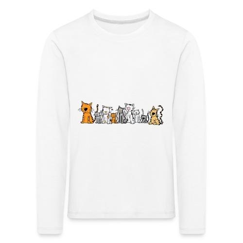 Cats & Cats - Kinderen Premium shirt met lange mouwen