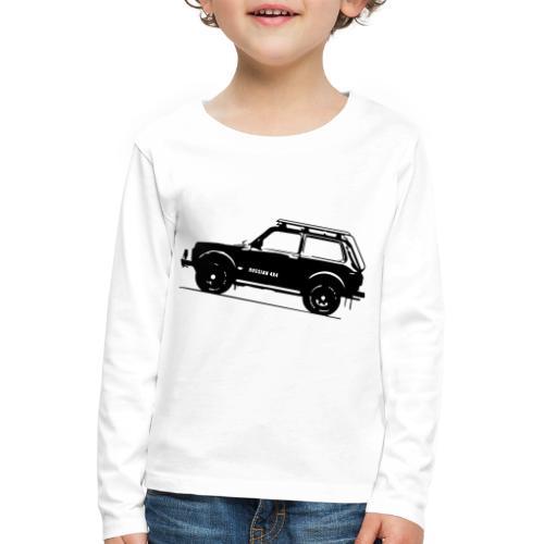 Lada Niva 2121 Russin 4x4 - Kinder Premium Langarmshirt