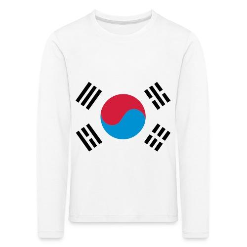 South Korea - Kinderen Premium shirt met lange mouwen