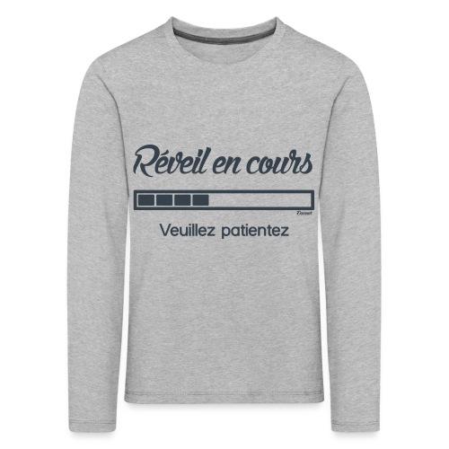 Réveil en cours (F) - T-shirt manches longues Premium Enfant