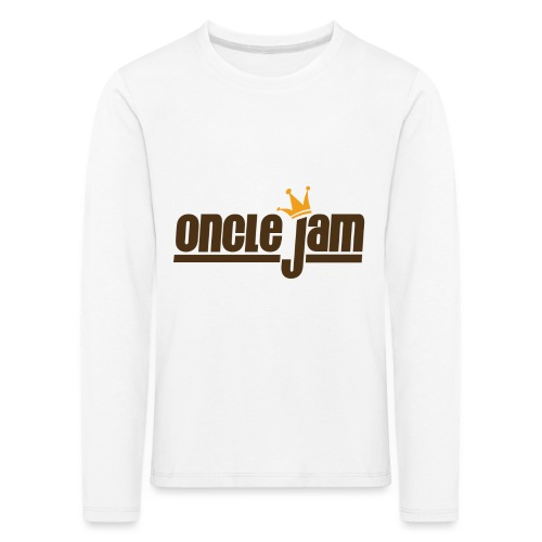 Oncle Jam horizontal brun - T-shirt manches longues Premium Enfant
