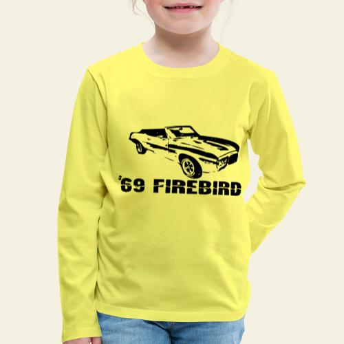 firebird small - Børne premium T-shirt med lange ærmer