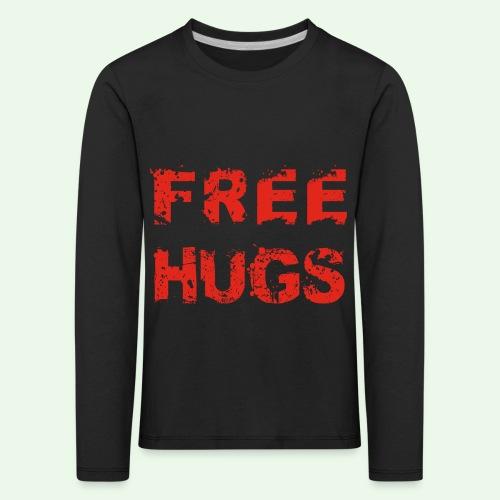 Free Hugs // Flirten // T-Shirt - Kinder Premium Langarmshirt