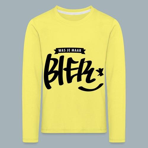 Bier Premium T-shirt - Kinderen Premium shirt met lange mouwen