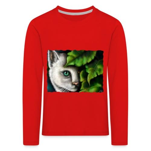 Gatto Shiva - Maglietta Premium a manica lunga per bambini