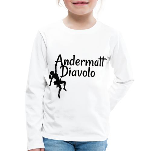 Andermatt Diavolo Uri Geschenkidee - Kinder Premium Langarmshirt