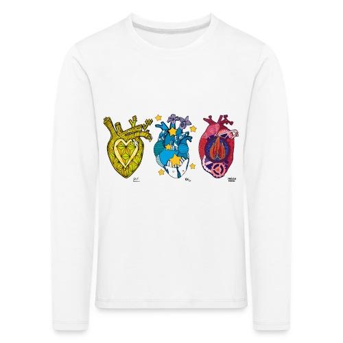 Corazones Prestados - Camiseta de manga larga premium niño