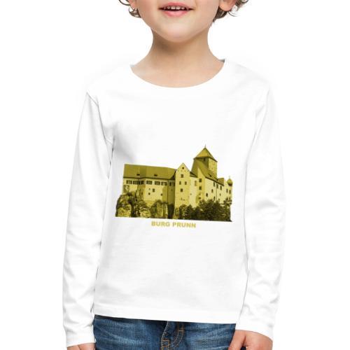 Prunn Burg Altmühltal Kelheim Riedenberg Bayern - Kinder Premium Langarmshirt