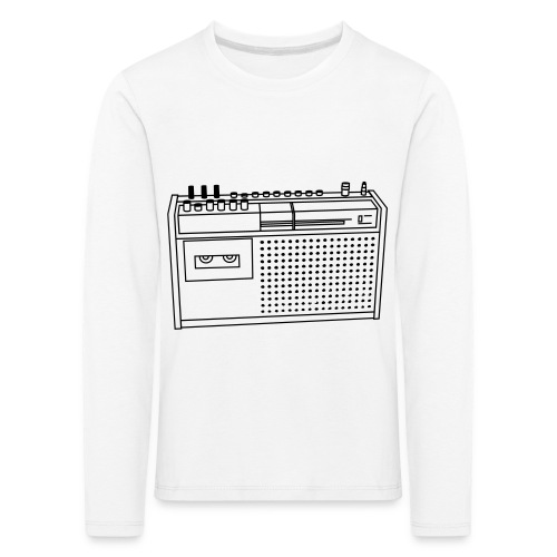 Rekorder R160 - Kinder Premium Langarmshirt