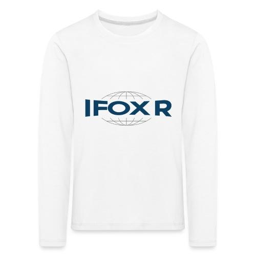 IFOX Logo - Långärmad premium-T-shirt barn