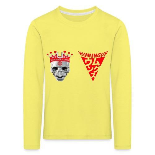 skull krone humungus3 png - Kinder Premium Langarmshirt