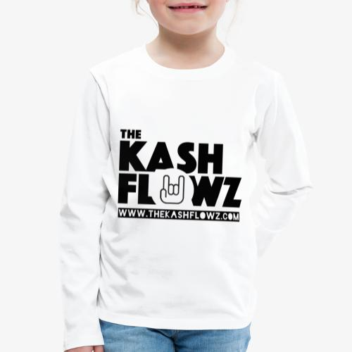 The Kash Flowz Official Web Site Black - T-shirt manches longues Premium Enfant