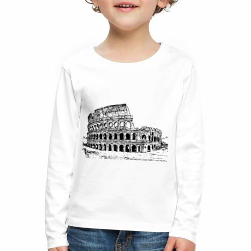 Kolosseum - Kinder Premium Langarmshirt