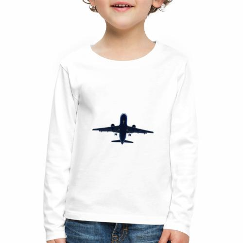 Flugzeug - Kinder Premium Langarmshirt