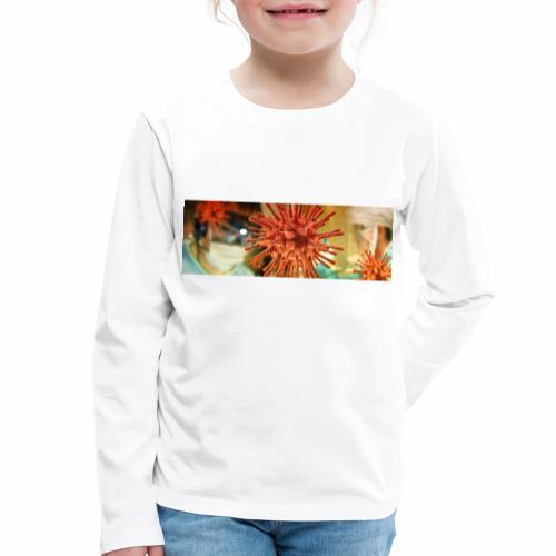 Koronawirus, Coronavirus - Koszulka dziecięca Premium z długim rękawem