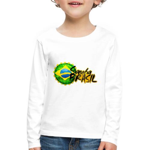 Rio de Janeiro Samba - Kids' Premium Longsleeve Shirt