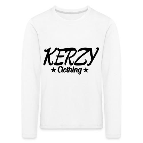 Official KerzyClothing T-Shirt Black Edition - Kids' Premium Longsleeve Shirt