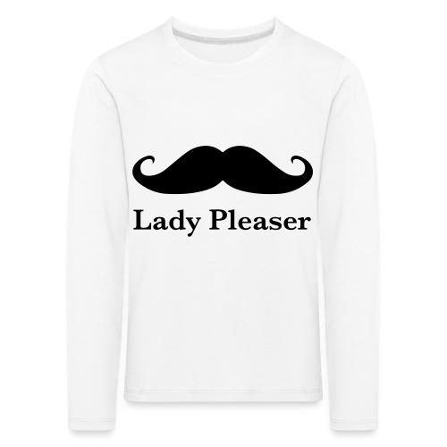 Lady Pleaser T-Shirt in Green - Kids' Premium Longsleeve Shirt