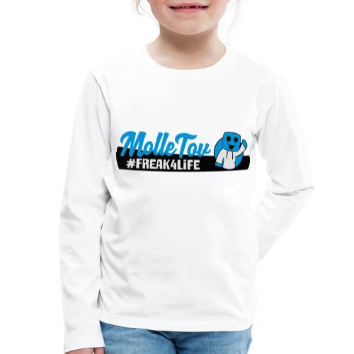 Nyt Logo4 - Børne premium T-shirt med lange ærmer