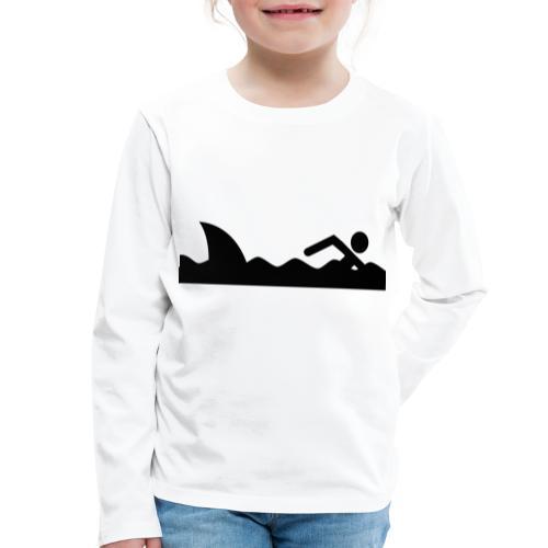 Haifischfutter - Kinder Premium Langarmshirt