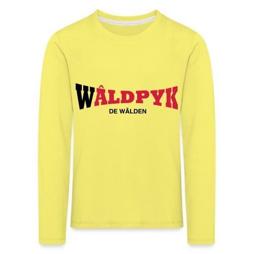 Wâldpyk - Kinderen Premium shirt met lange mouwen