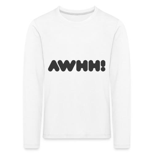 awhh - Kinder Premium Langarmshirt