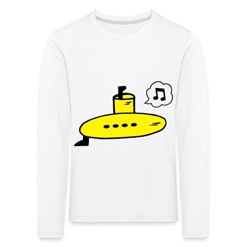 Singing Yellow Submarine - Kids' Premium Longsleeve Shirt