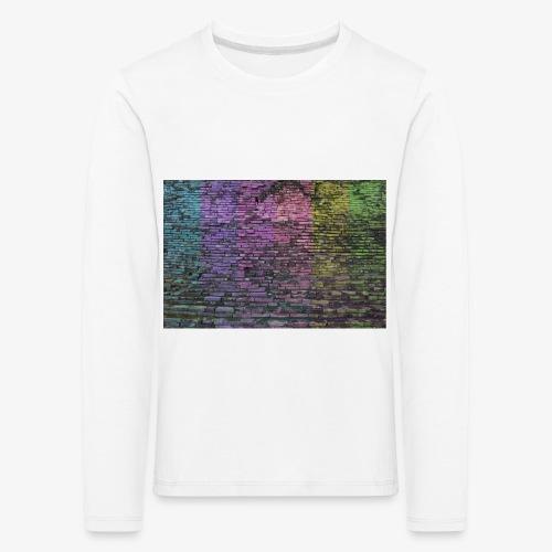 Regenbogenwand - Kinder Premium Langarmshirt
