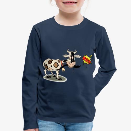 Vaquita - Camiseta de manga larga premium niño