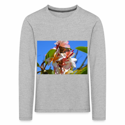 Schmetterling - Kinder Premium Langarmshirt