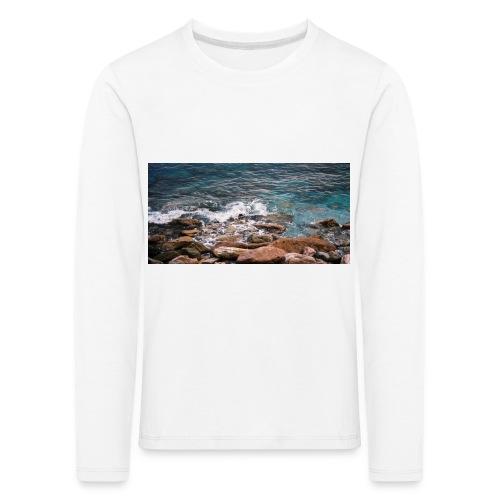 Handy Hülle Meer - Kinder Premium Langarmshirt