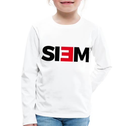 siem_zwart - Kinderen Premium shirt met lange mouwen