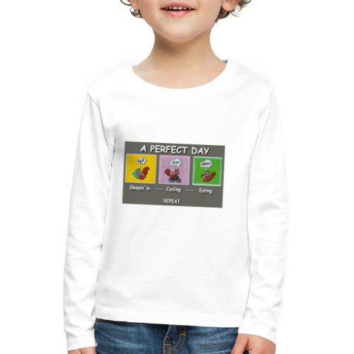 A Perfect Day Halmi - Comic - Kinder Premium Langarmshirt