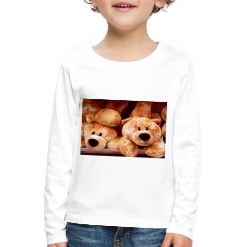 Glücksbären - Kinder Premium Langarmshirt