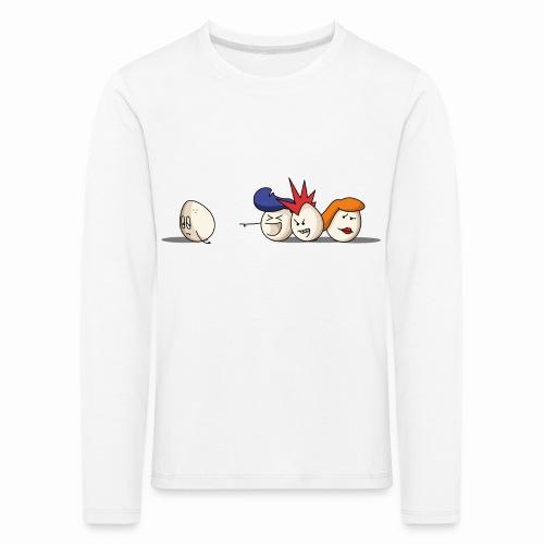 Bald Eggs - T-shirt manches longues Premium Enfant