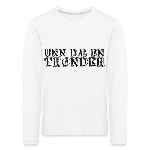 unndae - Premium langermet T-skjorte for barn