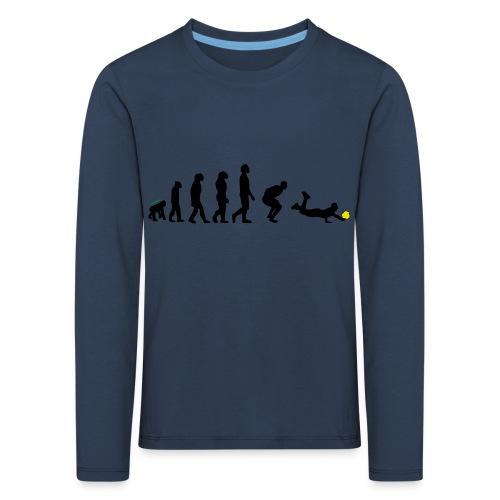 Evolution Defense - Maglietta Premium a manica lunga per bambini