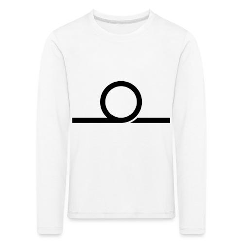 WHEEL LONG png - Kids' Premium Longsleeve Shirt